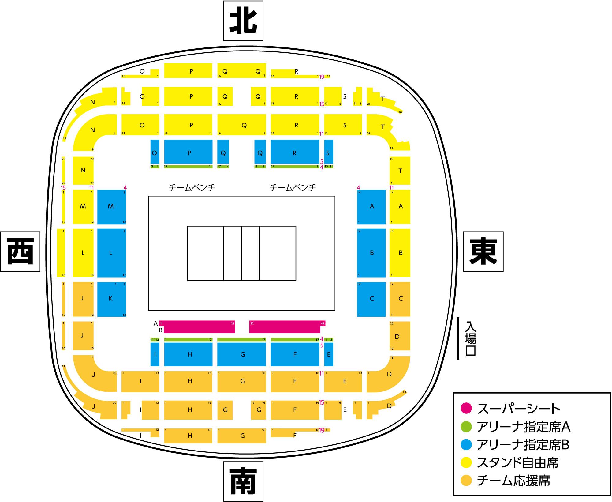 V・PL、CLⅠ男子大田大会 @ 大田区総合体育館 | 大田区 | 東京都 | 日本